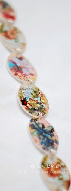Thoughts of a Cardmaking Scrapbooker!: Shrinky dink necklace tutorial