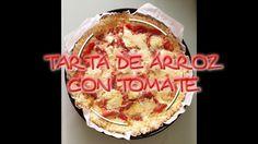 TARTA DE ARROZ CON TOMATE NATURAL by Amacooking