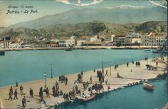 Greece Patras Harbour View 1913   eBay Hellenic Army, Greece History, Patras, Greeks, Eastern Europe, World War Two, First World, Old Photos, Places To Travel