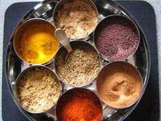 Many of my friends, new to Indian food, think that it's all spice and fire. But that's not true. Sure, there are spices, but it's not all chili. It's cumin, cinnamon, cardamom; fragrant spices, robust ones, peppery ones. And they're used carefully and thoughtfully. Each has its own aroma and adds its own character to a dish. Today we're going to go through the basics of dry-roasting to help get the most out of those spices.