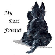 Scottie - My Best Friend by Artist Cherry O'Neill
