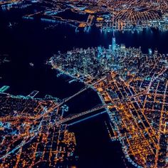 """""""✨What a treat!! Incredible high altitude shot from 7500ft by @paulganun overtop #NYC! @flynyon #FlyNYON #FlyNYoN_NY #NYonAir_HighAltitude Behind the…"""""""