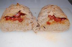 Pao com chouriço. Portuguese Recipe #portuguese #main