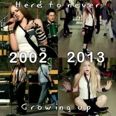 Here's to never growing up...she seriously never ages