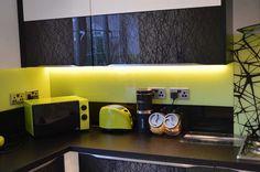Glass Kitchen Splashback by CreoGlass Design (London, UK). View more glass…