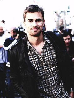 Theo James as Four...I should just make a Theo James board.