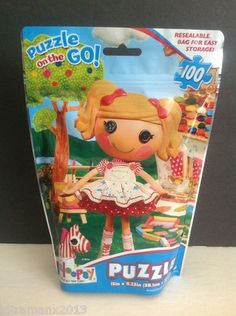 Lalaloopsy PUZZLE ON THE GO 100 Pieces Cardinal Industries
