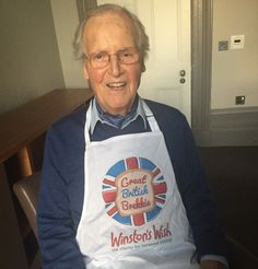 Nicholas Parsons Supporting our Great British Brekkie campaign 2015