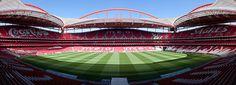 Estádio da Luz, Lisbon, Portugal.