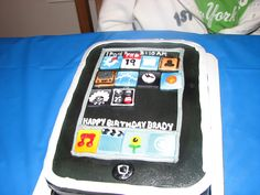 ipod touch cake
