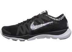 Nike Flex Supreme TR3 Swarovski Bling Shoe - Black