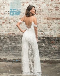 9ba633b3dd2 And Just Like That Jumpsuits Were Everything Again. Wedding JumpsuitDream  Wedding DressesPerfect ...