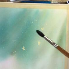 Watercolor Beginner, Watercolor Paintings For Beginners, Watercolor Art Lessons, Watercolor Video, Watercolour Tutorials, Watercolor Techniques, Watercolour On Canvas, How To Paint Watercolor, Water Paint Art