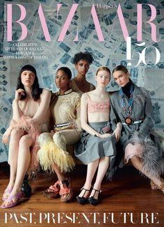 Erik Madigan Heck for Harper's Bazaar UK February 2017 Cover Fashion Magazine Cover, Fashion Cover, Magazine Covers, World Of Fashion, Fashion Show, Uk Fashion, Fashion 2017, High Fashion, Fashion Beauty