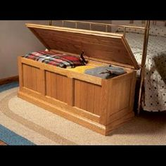 Arts and Crafts Blanket Chest Downloadable Plan | WOOD Magazine