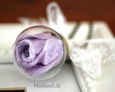 Echte Rosenkette ♥ Ewige Rose - ewige Liebe  ♥  von MadamLili® ♥ Nostalgieschmuck für Romantiker ♥ Das Original seit 2009 auf DaWanda.com
