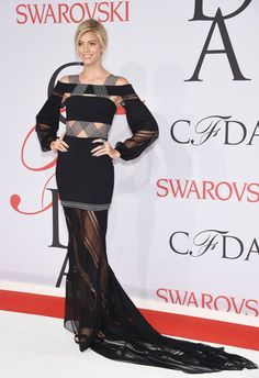 Devon Windsor - Julho 2015 (CFDA Fashion Awards)