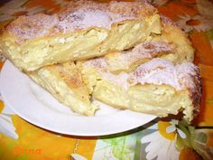 Romanian Desserts, Romanian Food, Sweets Recipes, Easy Desserts, Cooking Recipes, Good Food, Yummy Food, Cheesy Recipes, Dough Recipe