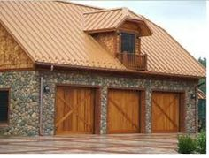 Best Copper Colored Metal Roof For The Home Pinterest 400 x 300
