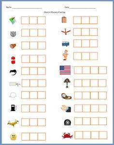 Tchrgrl: New Sound Box (Elkonin) Task Cards--Ending Blends and Digraphs