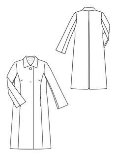 Flared Coat 10/2012 #125