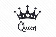 Queen SVG Cut file by Creative Fabrica Crafts - Creative Fabrica