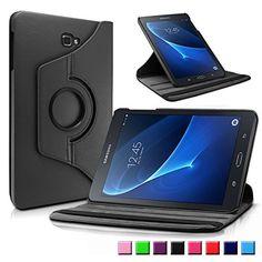 29f76d2c040 Samsung Galaxy Tab A 10.1 Funda Case, Infiland PU Cuero 360°Rotación Smart  Cover