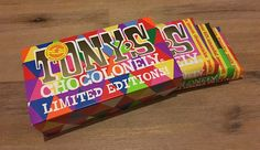 Tonys Chocolonely Limited Editions 2015