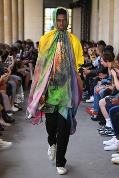 Christian Dada Spring 2019 Menswear Fashion Show Collection: See the complete Christian Dada Spring 2019 Menswear collection. Look 62