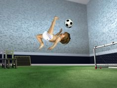 Find out: Baby Kicking Ball wallpaper on  http://hdpicorner.com/baby-kicking-ball/