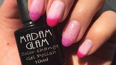 Chameleons Color Changing Gel Polish First Impression From madam glam