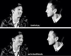 I envy their friendship