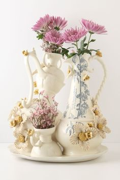 I think I can make this....A Blooming Occasion Decoration - Anthropologie.com