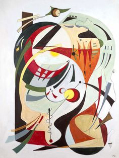 'Composition II' by Leo. Medium: Acrylic.