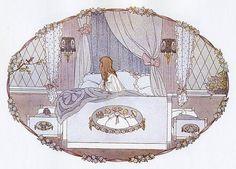 Illustration by Henriette Willebeek Le Mair Vintage Images, Vintage Art, Vintage World Maps, Retro Art, Art And Illustration, Book Illustrations, Vintage Children, Art Images, Illustrators