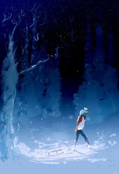 Big day in the snow. #pascalcampionart -Daddy? -Yes? -That was the BEST day ever! -It was fun! _Daddy? _ Yes? _Thank you for being my daddy! -....