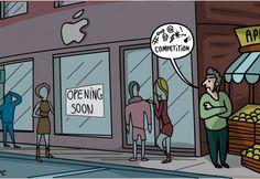 digestNYC, #NY #cartoon #comics #apple
