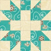 "Churn Dasher Quilt Block Tutorial - 5"", 7-1/2"", 10"" and 12-1/2"" blocks - 10 layout variations"