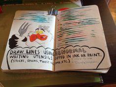 Wreck This Journal #dingelhopper #littlemermaid