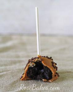 Peanut Butter Oreo Cake Pops
