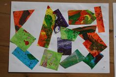 The Imagination Tree: Eric Carle Tissue Paper Collages