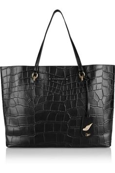 DVF leather tote