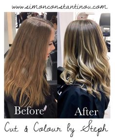 SUNKISSED BLONDE  What a pretty transformation! Lovely results from Steph by adding pretty blonde tones to this clients hair to give her more of a natural summery look  Book a complementary colour consultation with Steph or one of our other talented colourists  Call us on 02920461191 Or use our easy online booking system: http://ift.tt/2jsyJ86 O.Constantinou & Sons. 99 Crwys Rd Cardiff. CF24 4NF #simonconstantinou #behindthechair #modernsalon #goldwell #goldwelluk #iamgoldwell #sunkissed…