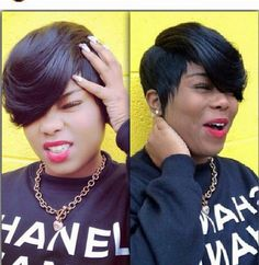 ***Try Hair Trigger Growth Elixir*** ========================= {Grow Lust Worthy Hair FASTER Naturally with Hair Trigger} ========================= Go To: www.HairTriggerr.com ========================= So Feeling this Swooped Pixie Cut!!!