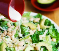 dressing salata Pasta Salad, Dressing, Ethnic Recipes, Food, Crab Pasta Salad, Noodle Salads, Meals, Macaroni Salad