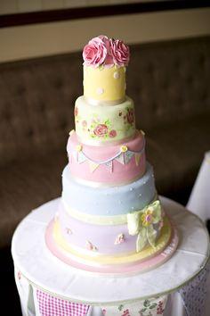 Most beautiful, Amazing Cath Kidston style wedding cake!