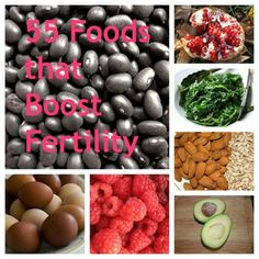 55 Foods that boost fertility. Going to buy all of them today.