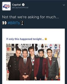 Capital on twitter <<< EVEN THEY WANTED IT TO HAPPEN ONE DIRECTION WHAT ARE YOU WAITING FOR!?!?
