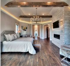45 Farmhouse Master Bedroom Design Ideas Match For Any Room – Page 38 – Home Decor Ideas Dream Bedroom, Home Decor Bedroom, Bedroom Ideas, Bedroom Furniture, Bedroom Designs, Summer Bedroom, Furniture Design, Bedroom Green, Rustic Furniture
