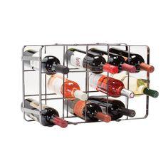 Wine Racks - Oenophilia Black Pearl Wine Rack 15 Bottle *** Visit the image link more details. Wine Bottle Opener, Bottle Rack, Wine Bottle Holders, Small Wine Racks, Coolers For Sale, Wine Rack Wall, Beer Cooler, Wine Storage, Easy Storage